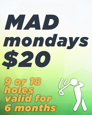 MAD Monday $20 Golf Deal