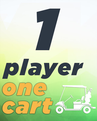 1 Player & 1 Cart