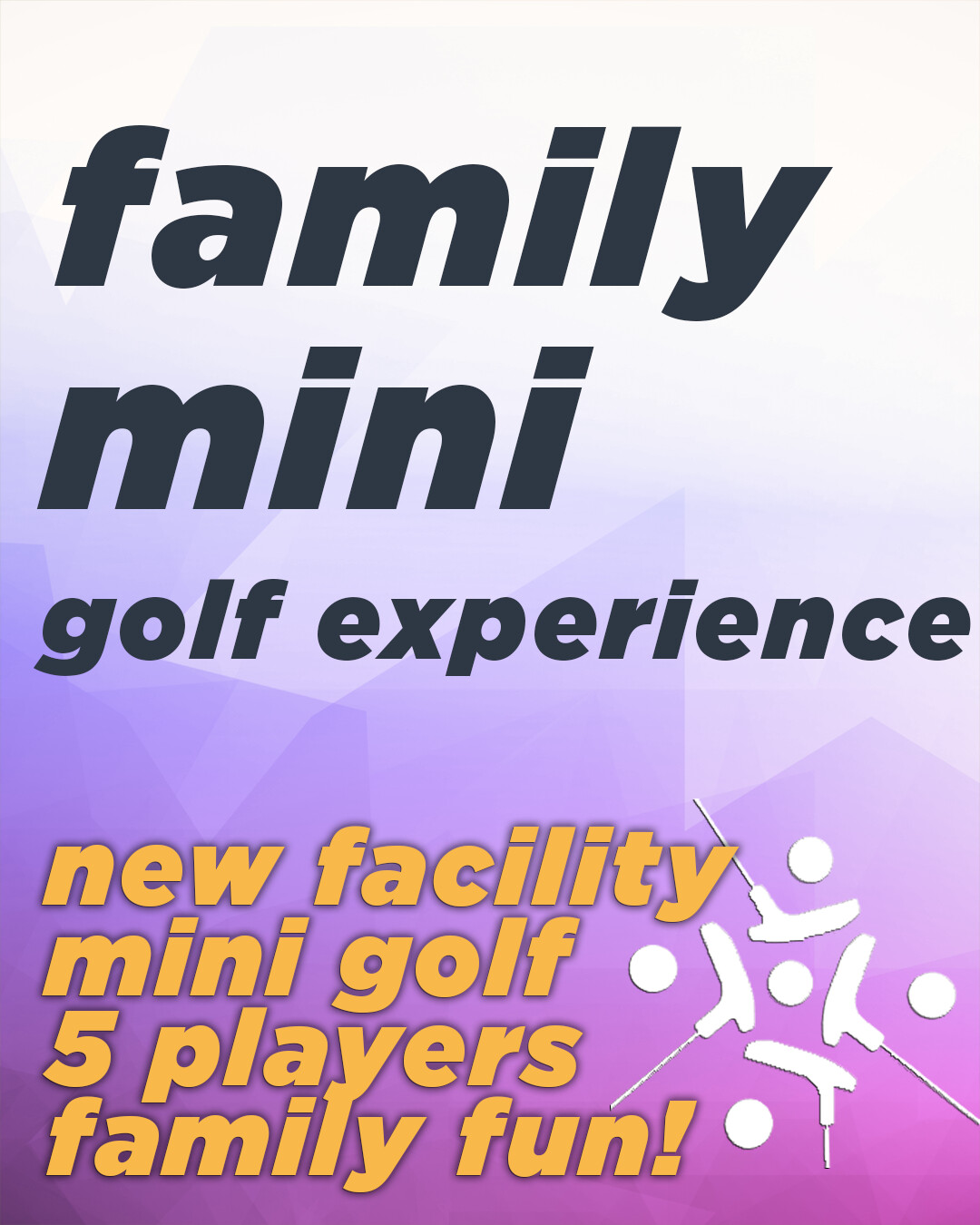 Family Mini Golf Experience