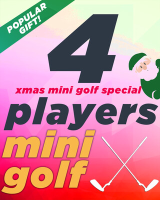 Xmas Special – 4 Players 40% OFF