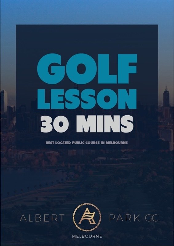 30 Minutes Golf Lesson VGL30MINS