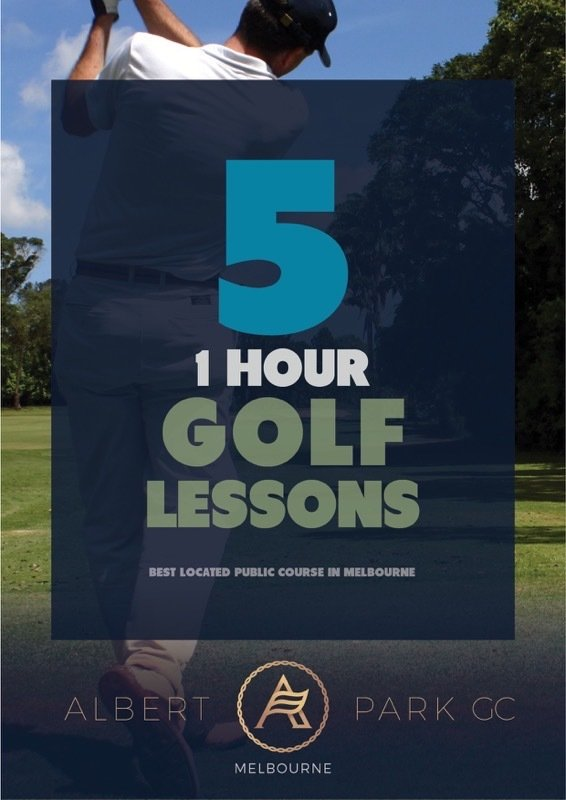 5 x 1 Hour Private Golf Lesson Package (1 hour) 5 Hours Golf Lessons Package