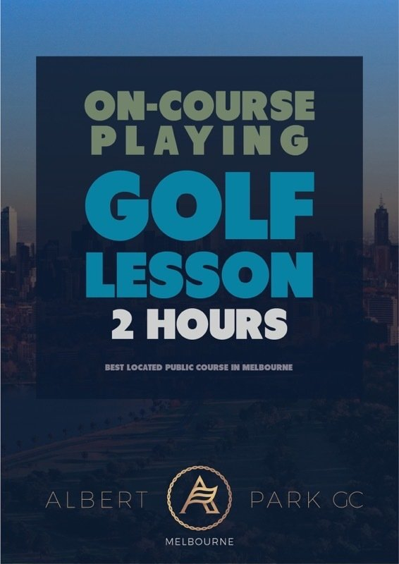2 Hours Private On-Course Playing Lesson VGLONCOURSE