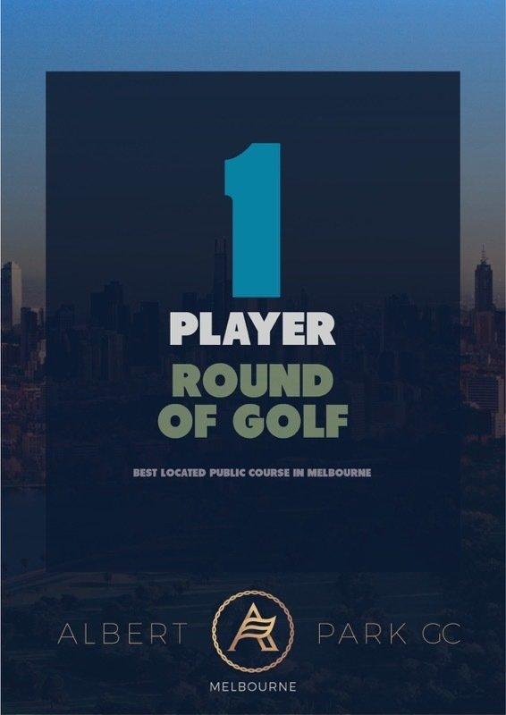 Single Round of Golf VRG1P
