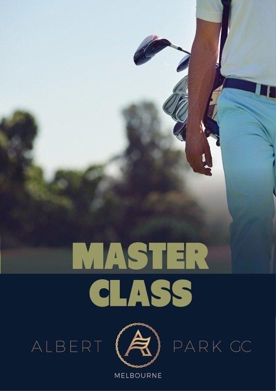 MasterClass Golf Lesson MasterClass_GL