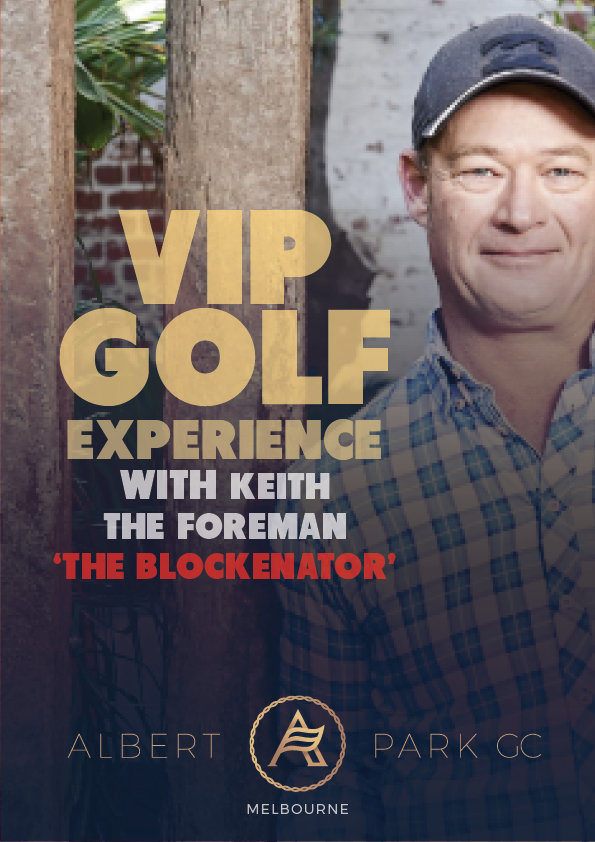 "VIP Golf Experience with Keith the Foreman ""The Blockenator"" VIPBLOCK"