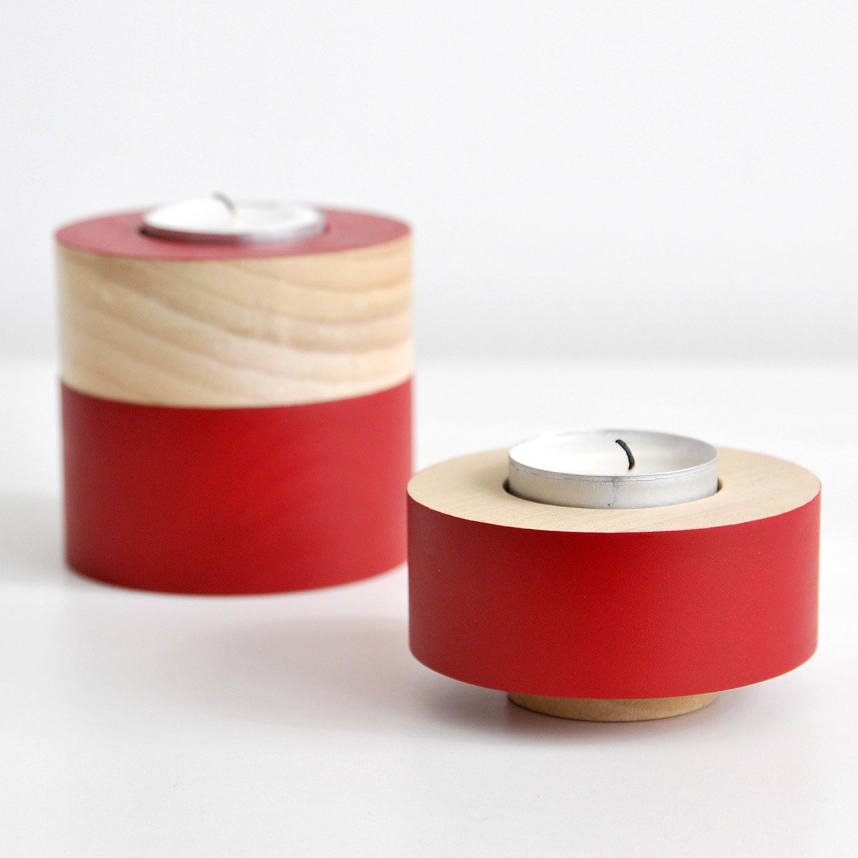 Domino Tealight Holder - Set of 3