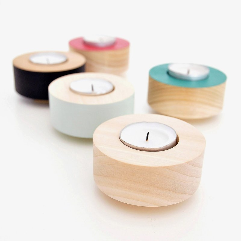 Domino Tealight Holder - Stack