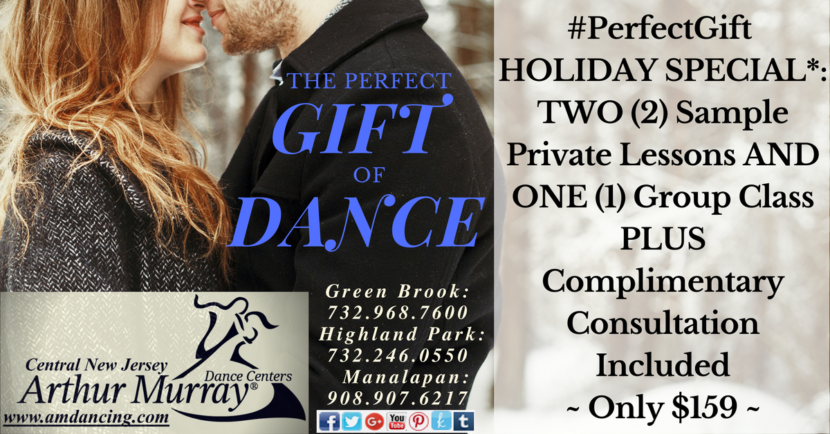 #PerfectGift of Dance Holiday Gift Certificate