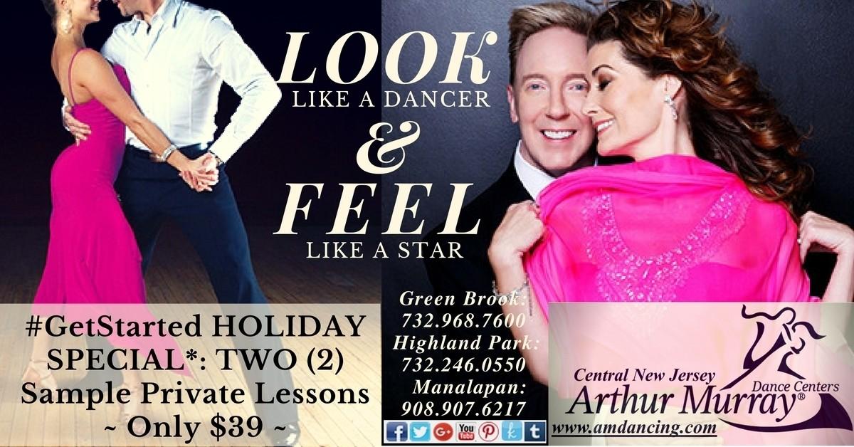#GetStarted Dancing Holiday Gift Certificate