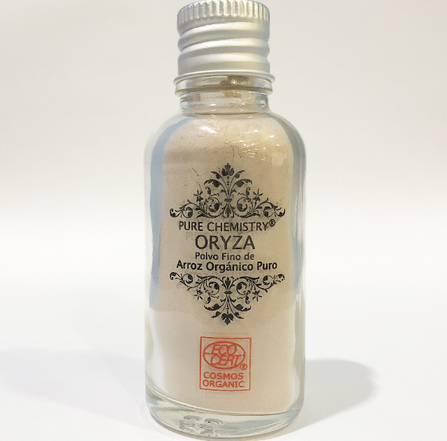Polvo Fino de Arroz -Oryza™ TONO MINERAL CLARO x 17 g /30 mL  - COSMOS ORGANIC ✅