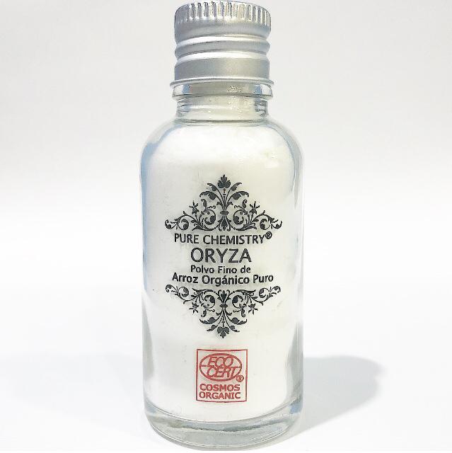 Polvo Fino de Arroz PURO Oryza™ x 17 g /30 mL- COSMOS ORGANIC ✅