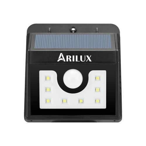 ARILUX PL-SL 01 Super Bright 8 LED Solar PIR Motion Sensor Light Waterproof Outdoor Security Lamp