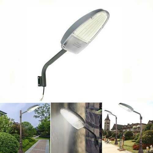 30W Light Control LED Road Street Light for Outdoor Garden Spot Security AC85-265V