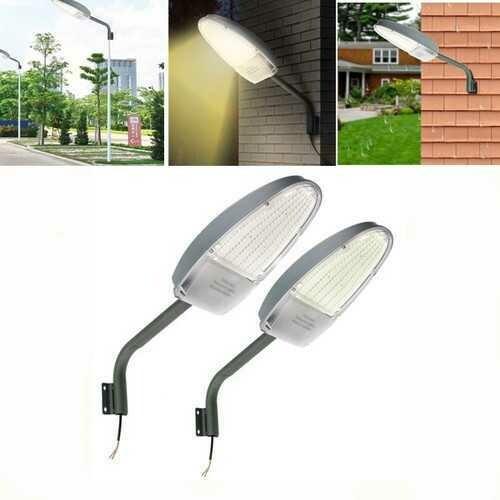 24W  Light Control LED Road Street Flood light Outdoor Garden Spot Security Lamp AC85-265V