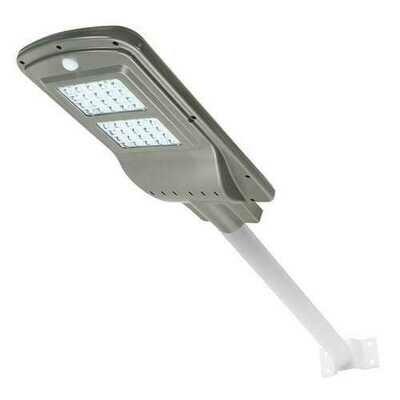 40W Solar Powered Radar Sensor Light Control LED Street Light Outdoor Waterproof Wall Lamp