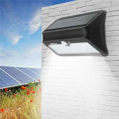 ARILUX AL-SL 13 46 LED Solar Powered PIR Motion Sensor Wall Light Waterproof Security Outdoor Lamp