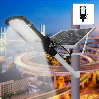 30W Solar Power LED Light Sensor Street Road Lamp Waterproof for Outdoor Garden Pathway