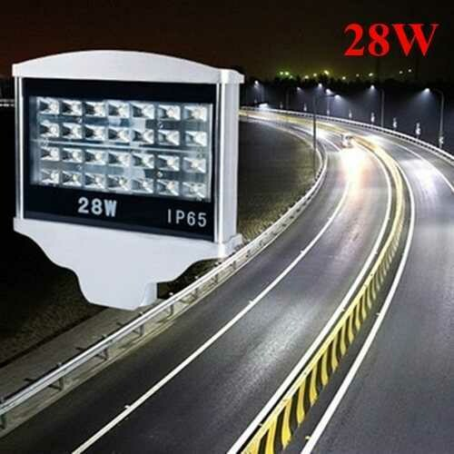 28W LED Waterproof Street Light IP65 AC85-265V Outdoor Park Road Lamp