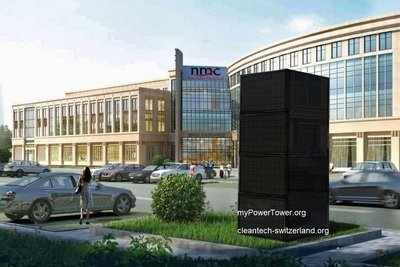 myPowerTower.org™ - swiss made cleantech natural energy komplett power plant tower solution ab...
