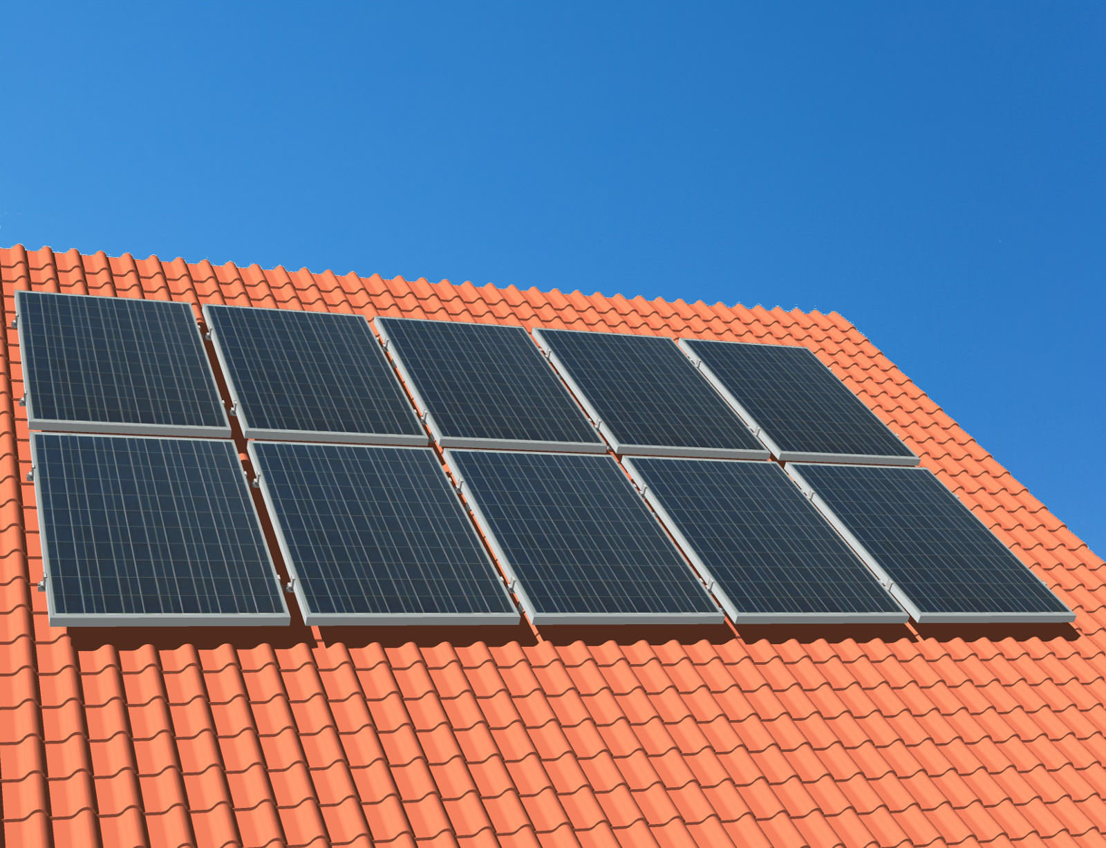 """myCleantech-Solar.org™ - Komplett Solaranlage Schrägdach 810 - 6'168 WattP """"Einfache Selbstmontage - do it yourself"""" oder Aufbau durch unsere Fachleute ab... K20180715-04 - Let's developp your renewable project togheter"""