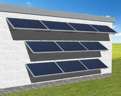 myCleantech-Solar.org™ - Komplett Solaranlage Fassade 810 - 6'168 WattP