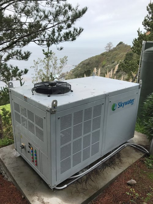 myCleantechFreshWater™ cleantech-cube.org skywater fresh water from the air - system run