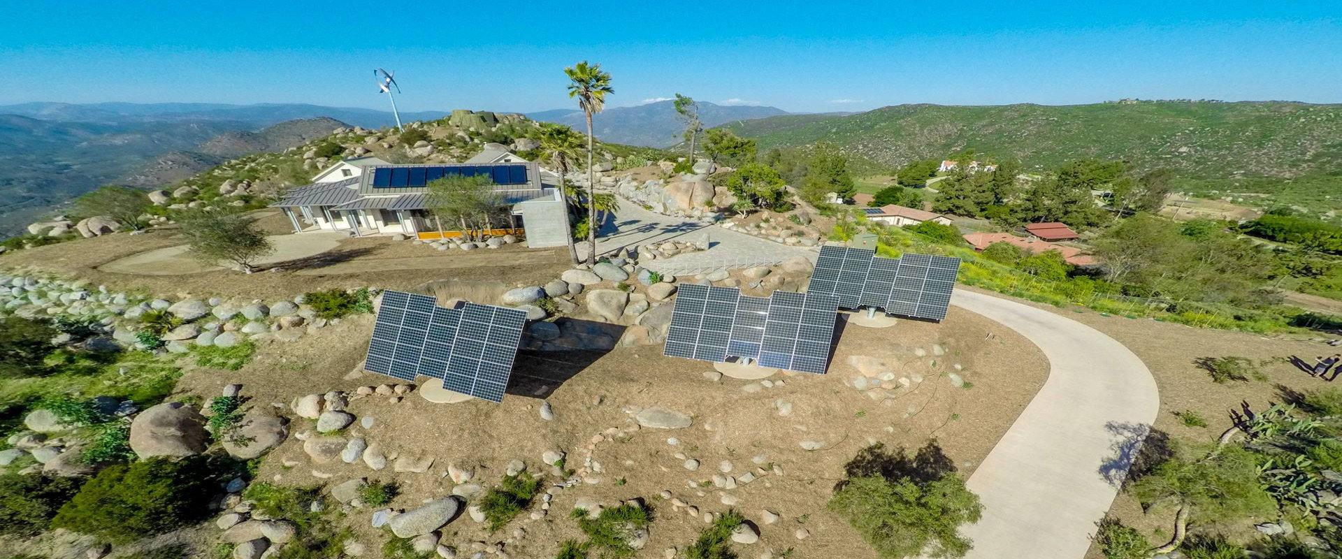 myCleantechSolarTracker™ Solaranalage - Hotel