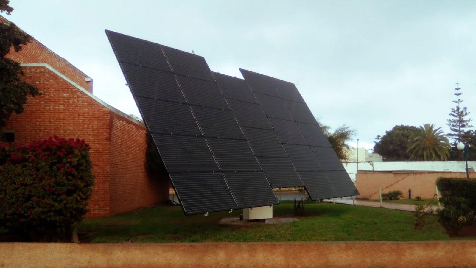 myCleantechSolarTracker™ Solaranalage - Uni