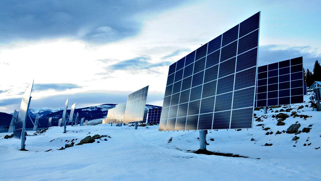 myCleantechSolarTracker™ Solaranalage - Schneeberge