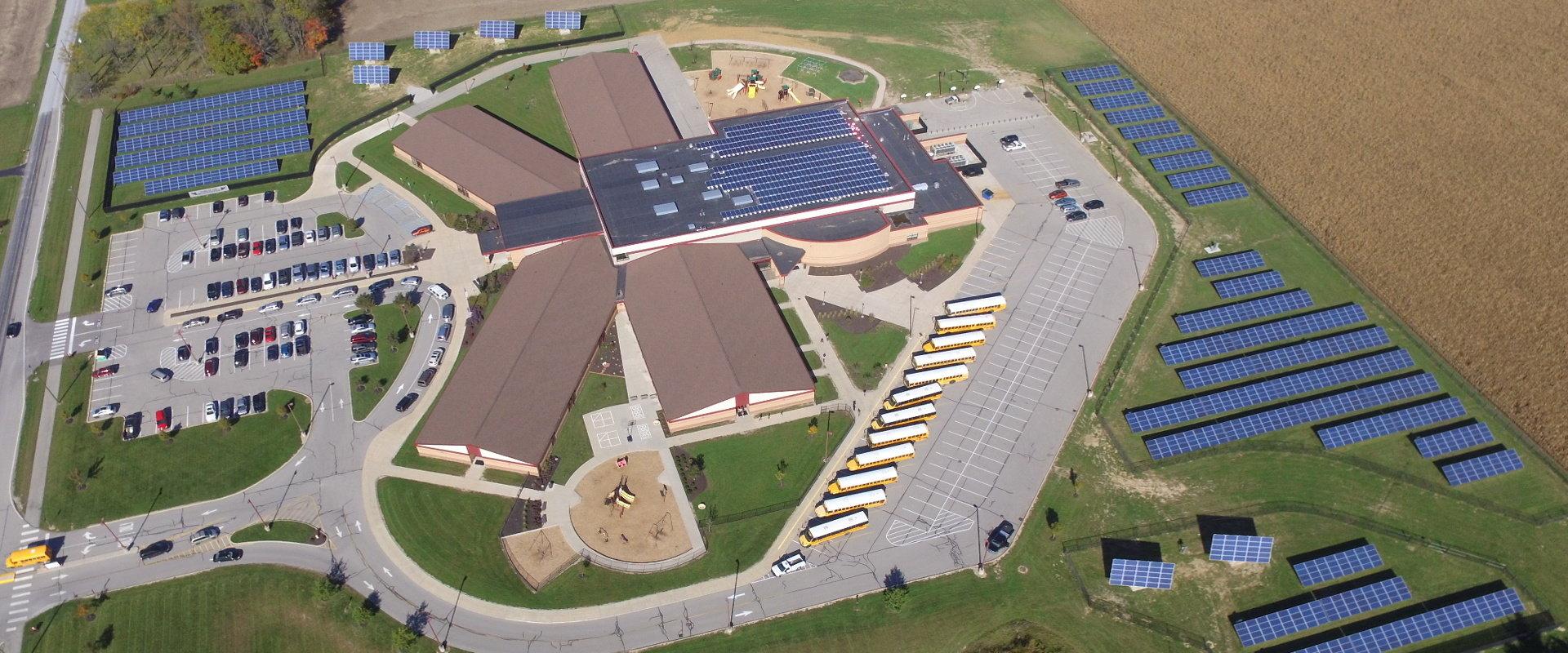 myCleantechSolarTracker™ Solaranalage - Schule