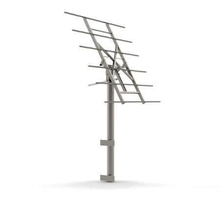 myCleantechSolarTracker™ Solaranalage - System 40 m2 - Hausintegriert