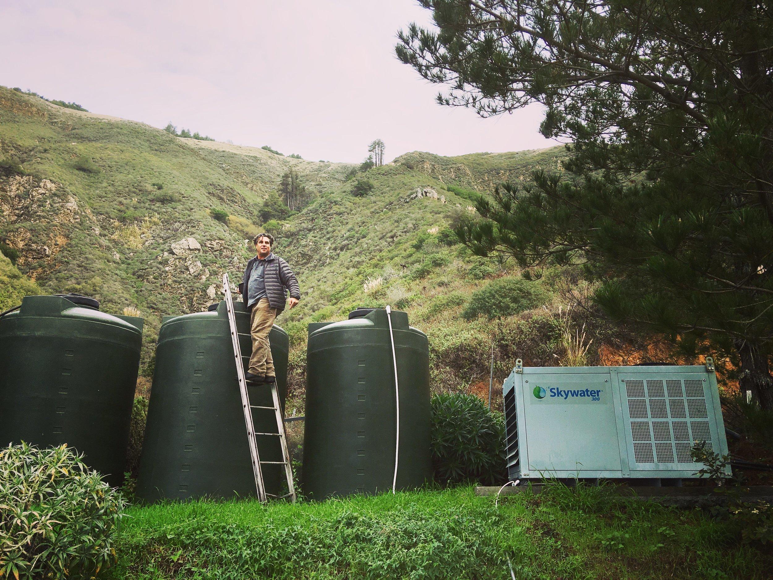 myCleantechFreshWater™ - Fresh water from air - Trinkwasser aus der Luft ab... K20181109-04-D10 Let's developp your renewable project togheter