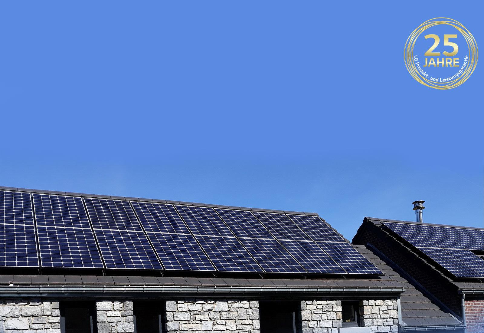 myCleantechSolarPower™ - LG Solarpannels (C) - Musterbild