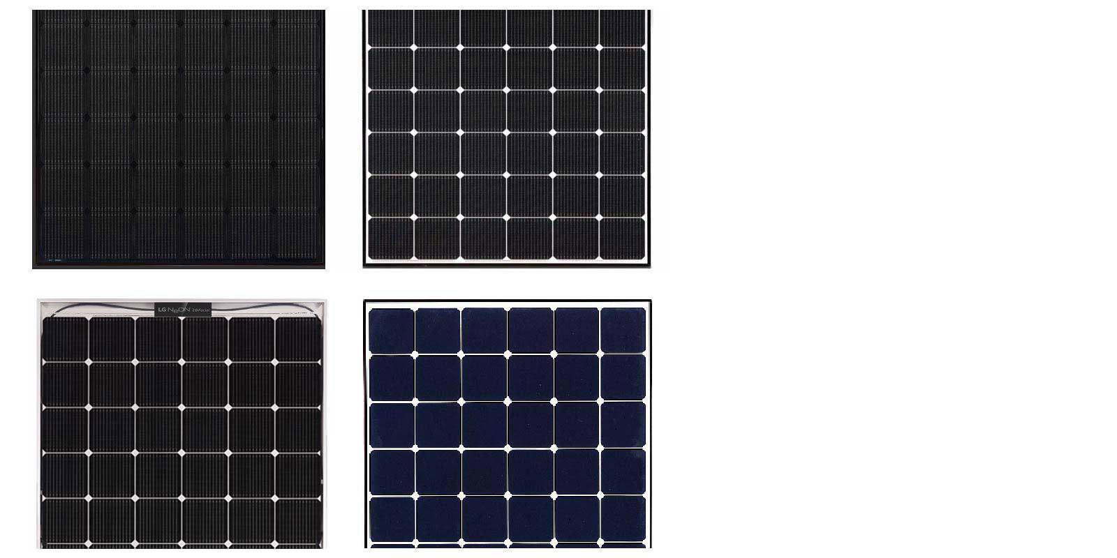 myCleantechSolarPower™ - LG Solarpannel Typen (C) - Musterbild