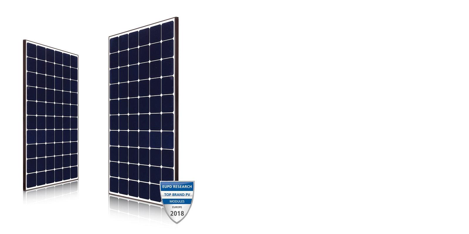 myCleantechSolarPower™ - LG Solarpannel NeON R Typ (C) - Musterbild
