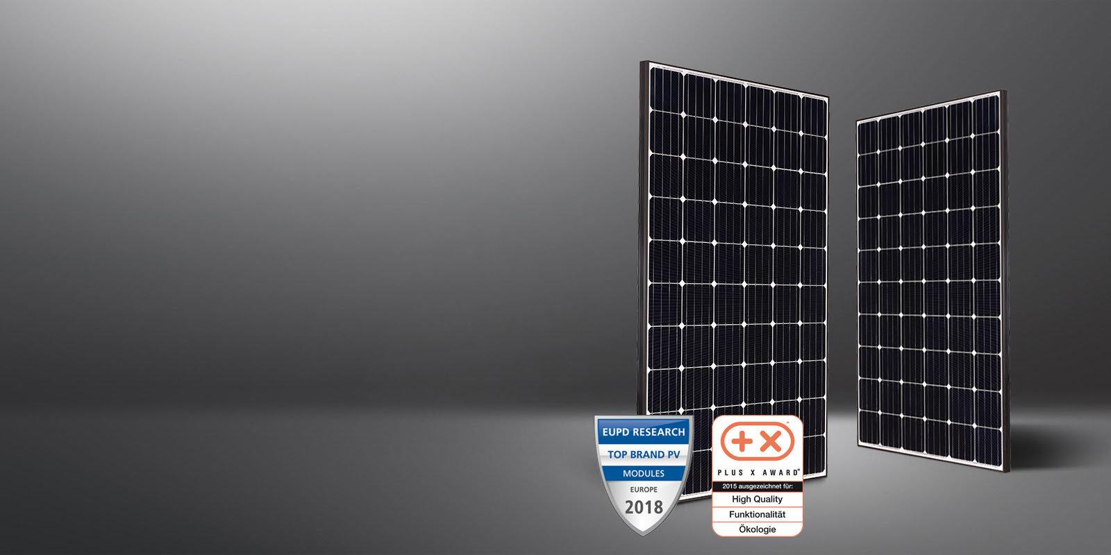 myCleantechSolarPower™ - LG Solarpannel Mono X Plus Typ (C) - Musterbild