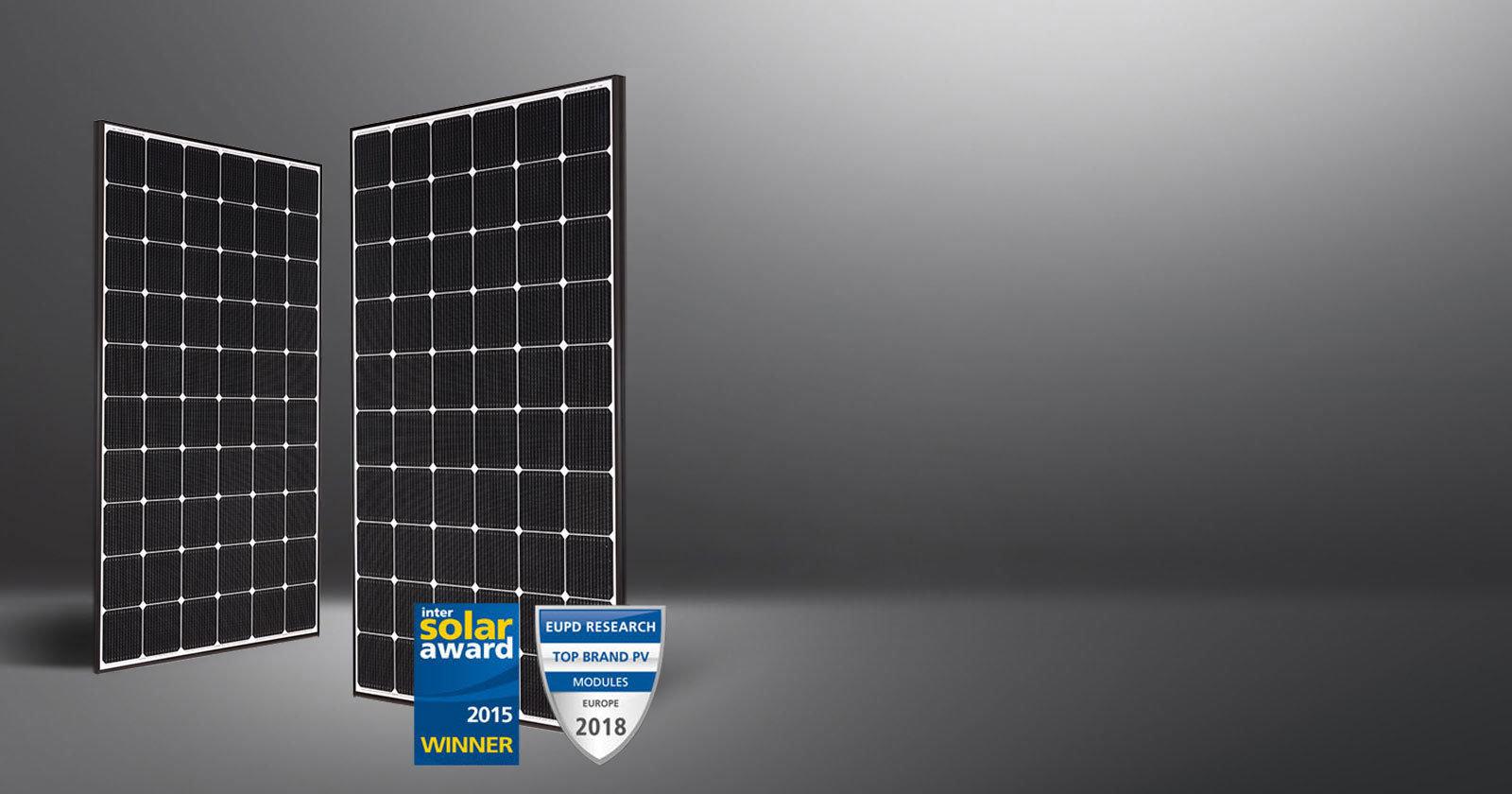 myCleantechSolarPower™ - LG Solarpannel NeON2 Typ (C) - Musterbild