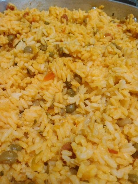 Arroz con pollo (10 personas)/Chicken and rice (10 people)