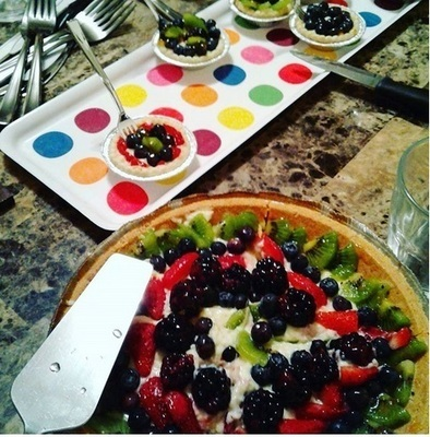 Fruit Tart/Tartar de Frutas