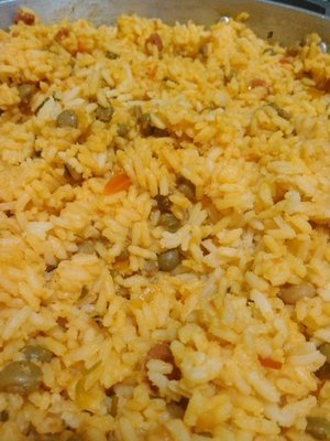 Arroz con pollo (10 personas)/Chicken and rice (10 people)
