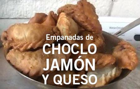 12 Empanadas de Choclo, Jamón, y Queso/Corn, Ham, and Cheese Empanadas