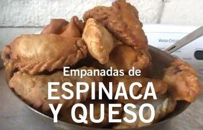 12 Empanadas de Espinaca/12 Spinach Empanadas