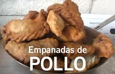 12 Empanadas de Pollo/12 Chicken Empanadas