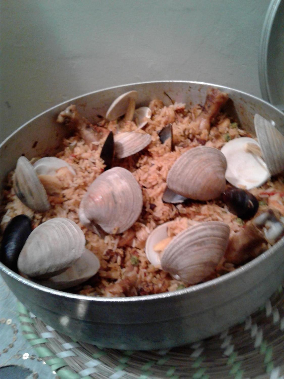 Rice with Seafood/Arroz con mariscos