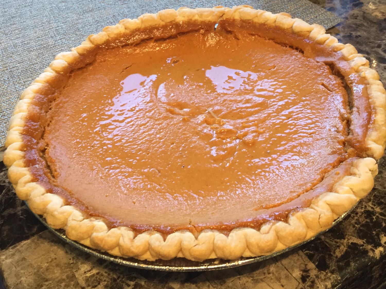 Pumpkin Pie/Pastel de Calabaza