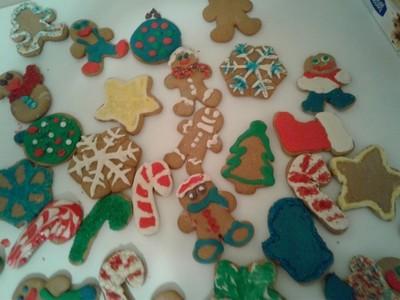 12 Gingerbread Cookies/ 12 Galletas de Jengibre