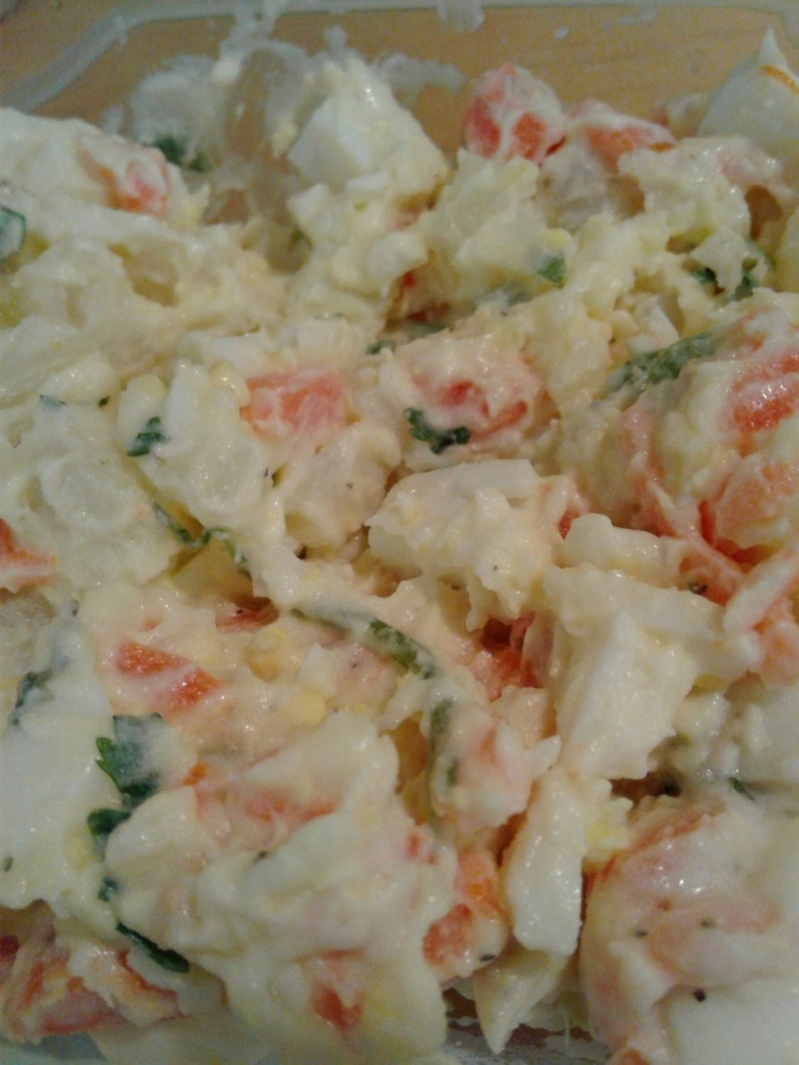 Potato Salad/Ensalada de Papa