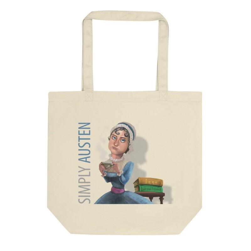 Simply Austen Cotton Tote Bag