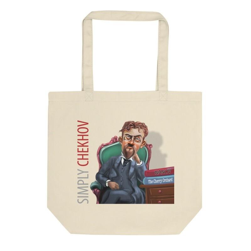 Simply Chekhov Cotton Tote Bag